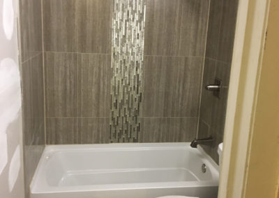Vertical Shower Tile