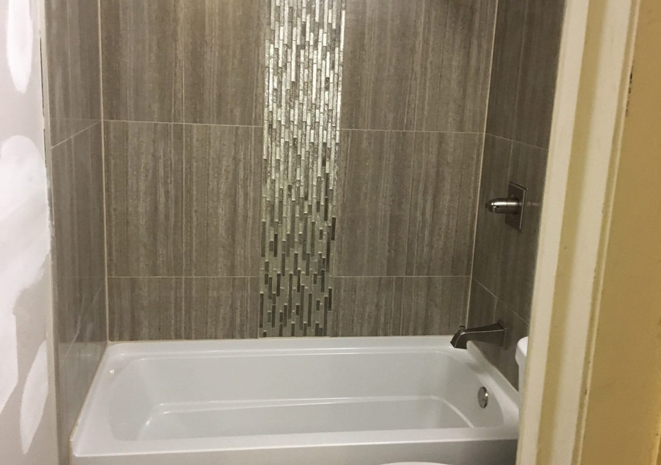 Vertical Shower Tile