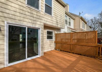 Deck/ Backyard